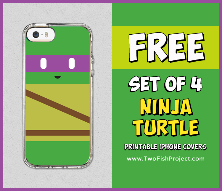 Teenage Mutant Ninja Turtle iphone cover