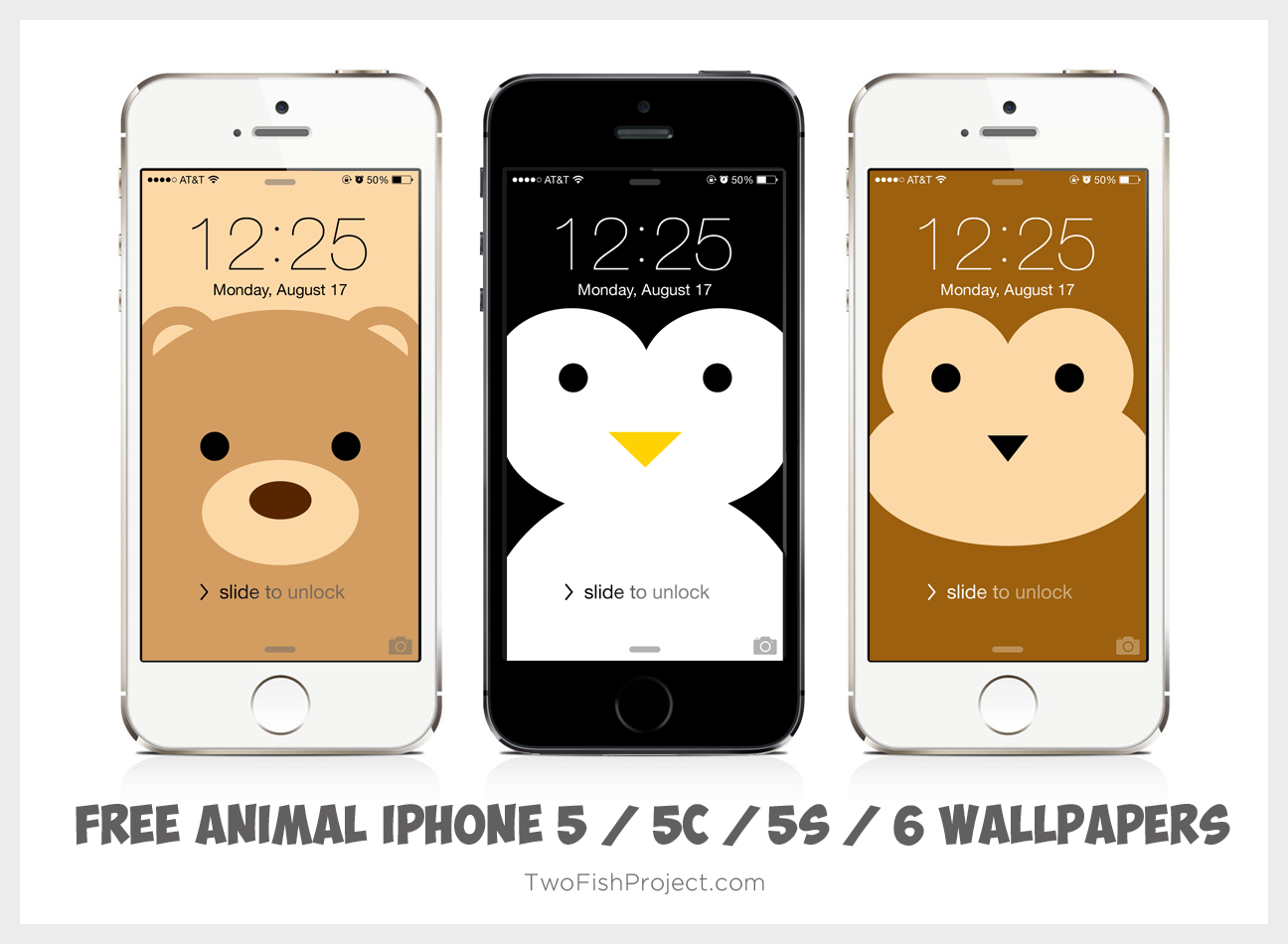 free animal iphone wallpapers twofish