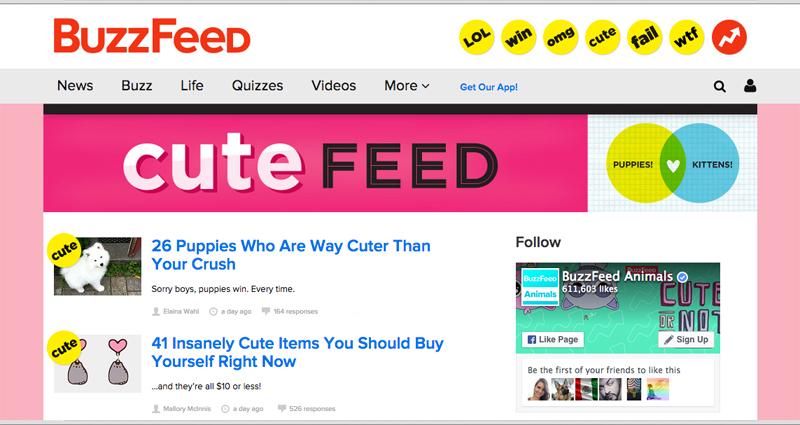 Buzzfeed likes me!